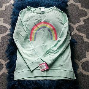 NWT Girls Circo Rainbow Sweatshirt